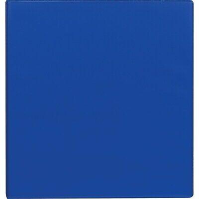 Staples Standard 3-inch D-ring Binder Blue 26306 976163