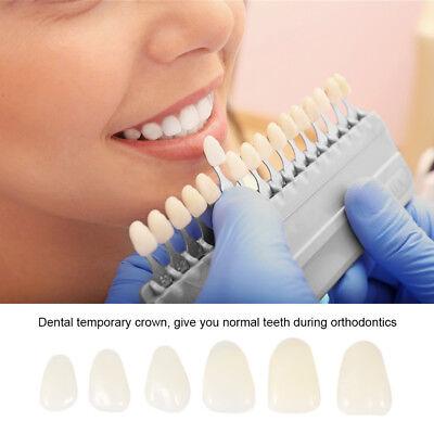 70pcs Dental Teeth Temporary Crown Oral Care Anterior Molar Crown X2z8