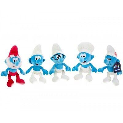 Die Schlümpfe Plüschtier 25cm Smurfs Kuscheltier Spielzeug Mädchen Jungen Kinder ()