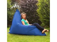 Giant Blue Bean Bag (only 1 remaining)