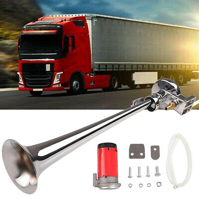 185DB Super Loud Air Horn Compressor Single Trumpet Train Car Truck Boat Ram Truck Air