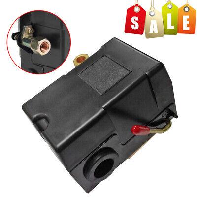 Single Port Unloader Air Compressor Pump Pressure Control Switch Valve 90-120ps