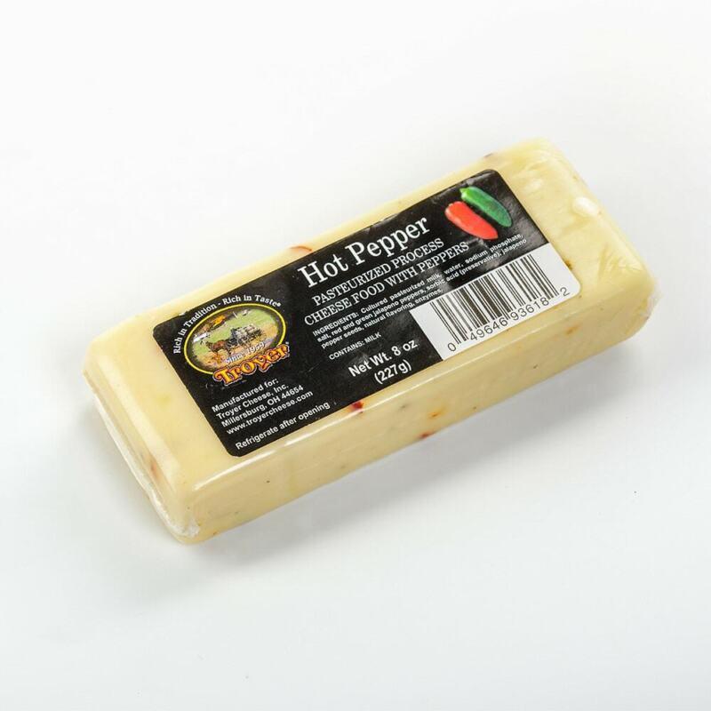 Hot Pepper Cheese 8oz 2pk