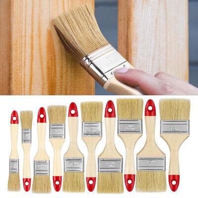 10 Pack Paint Brush Fine Brushes Set Advanced Bristles Decorating DIY Painting