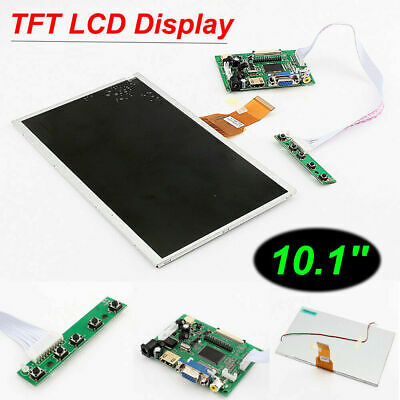10.1 Hdmi Touch Screen Tft Lcd Panel Module Shield 1024 X 600 For Raspberry Pi