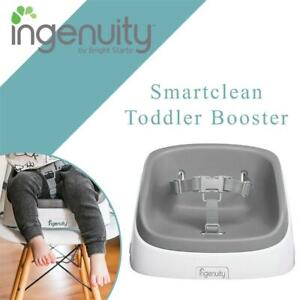 NEW Ingenuity Smartclean Toddler Booster, Slate Condtion: New
