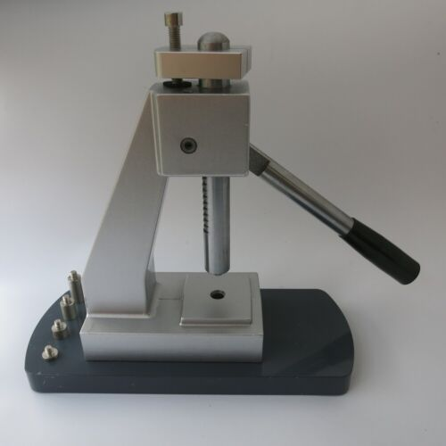G6173 Watch Back Case Press Tool Mineral Watch Glass Presser with 25 Metal Dies