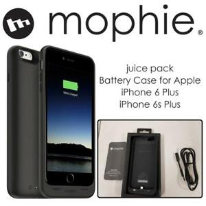 Used mophie juice pack Battery Case for Apple iPhone 6 Plus/ iPhone 6s Plus - Black Condtion: Used, Black