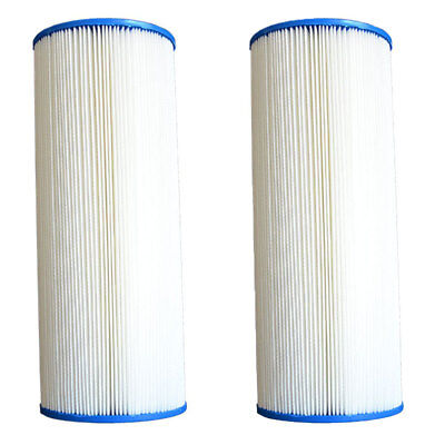 (Pleatco PA225 Pool Filter Replacement Cartridge, MicroStar-Clear C225 (2 Pack))