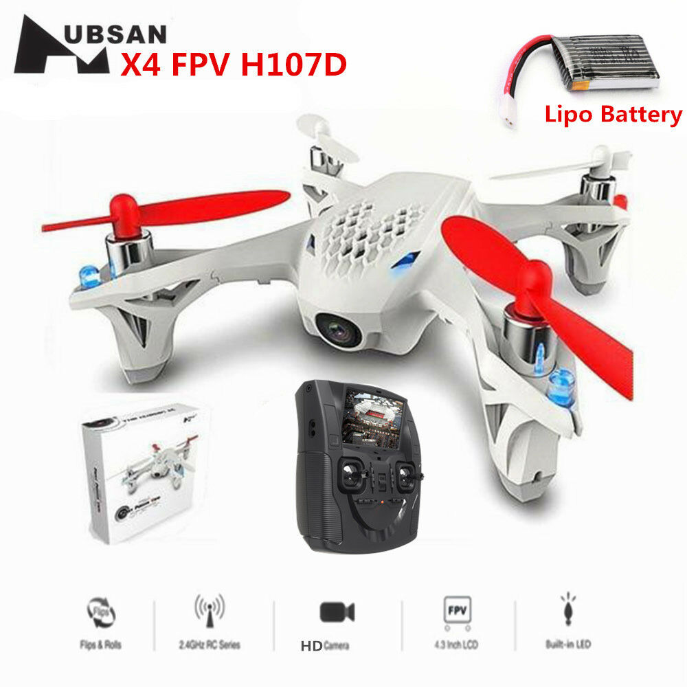 Hubsan H107D FPV X4 5.8G 4CH 6 Axis RC Quadcopter Toys Drone with 480P HD Camera