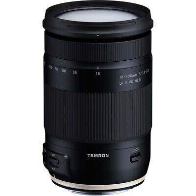 Tamron 18-400mm f/3.5-6.3 Di II VC HLD All-In-One Zoom Lens for Canon Mount