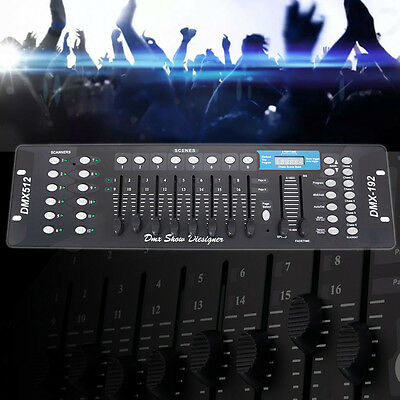DMX 512 192 Channel Operator Controller Console for Stage DJ Party Lighting Lamp ()