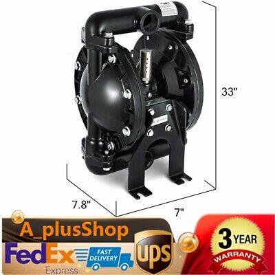 Air-operated Double Diaphragm Pump 35 Gpm 1 Inch Inletoutlet12 Inch Air Inlet