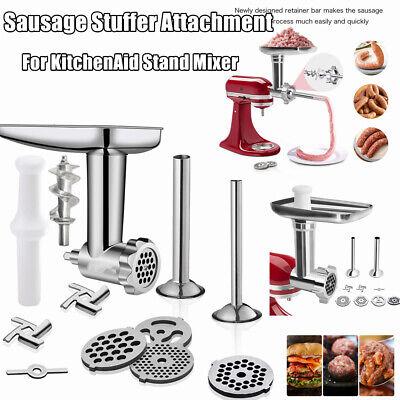 US Meat Grinder Sausage Stuffer Attachment For KitchenAid Cuisinart Stand Mixer Kitchenaid Mixer Grinder Attachment