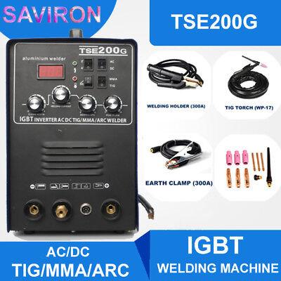 Igbt Inverter Acdc Tigmmaarc Welder Aluminum Welding Machine 200a Mmawig