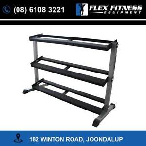 New Armortech 3 Tier Dumbbell Rack | Tough Frame