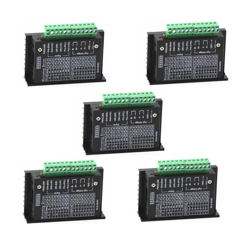 5PCS CNC Single Axis 4A TB6600 Stepper Motor Drivers Controller 42/57/86