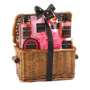 9ba0080de735a Spa Pleasures Floral Bouquet Scent Bath Essentials Gift Basket for ...