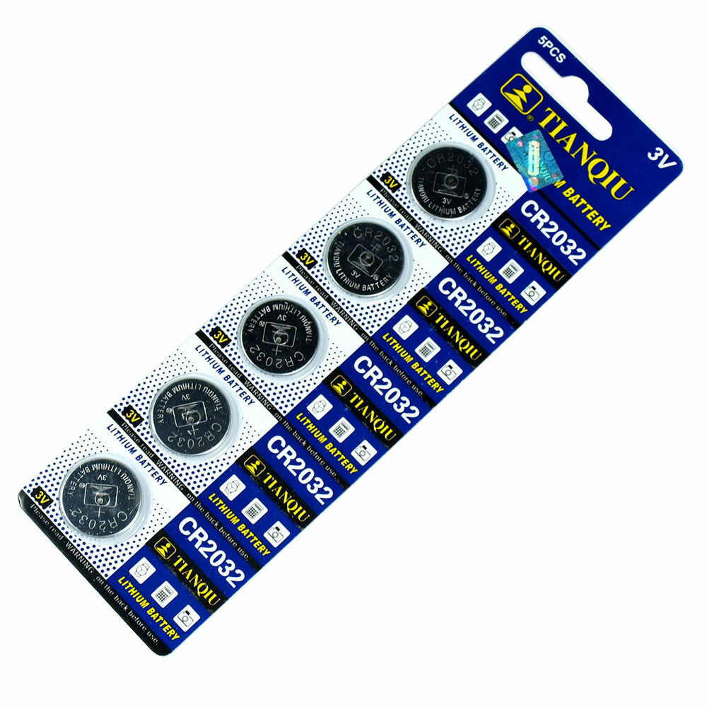 50 PCS CR2032 Lithium Battery 3V Button Cell for Calculator Scale Remote Watch