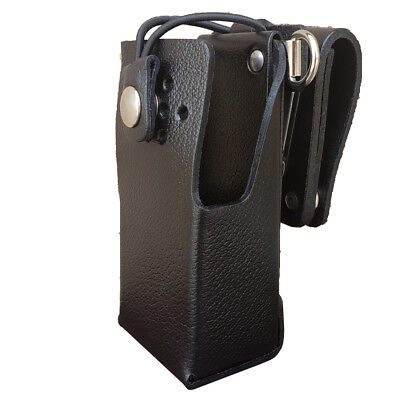 Case Guys Kw9060-3bwd Hard Leather Holster For Kenwood Nx-3220 Nx-3320 Radios