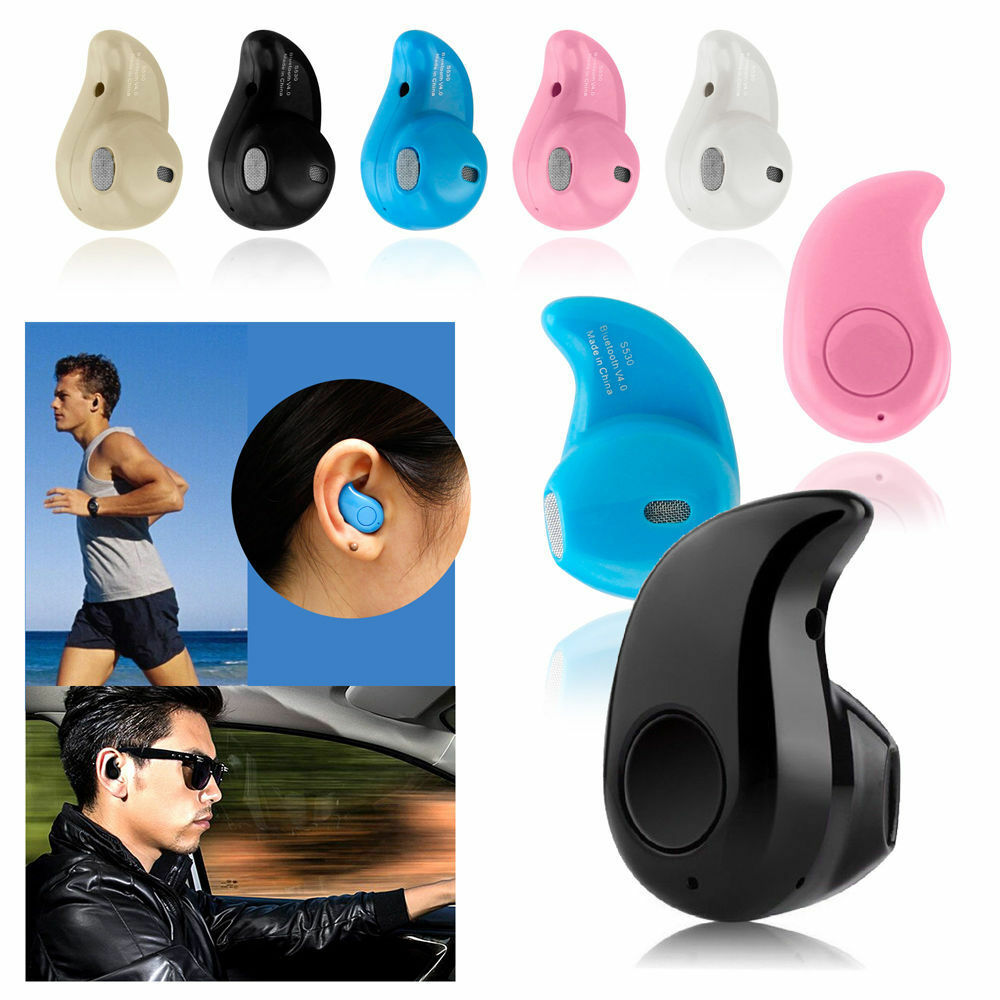 Newest Mini Wireless Bluetooth Stereo Sport Headset Earbuds
