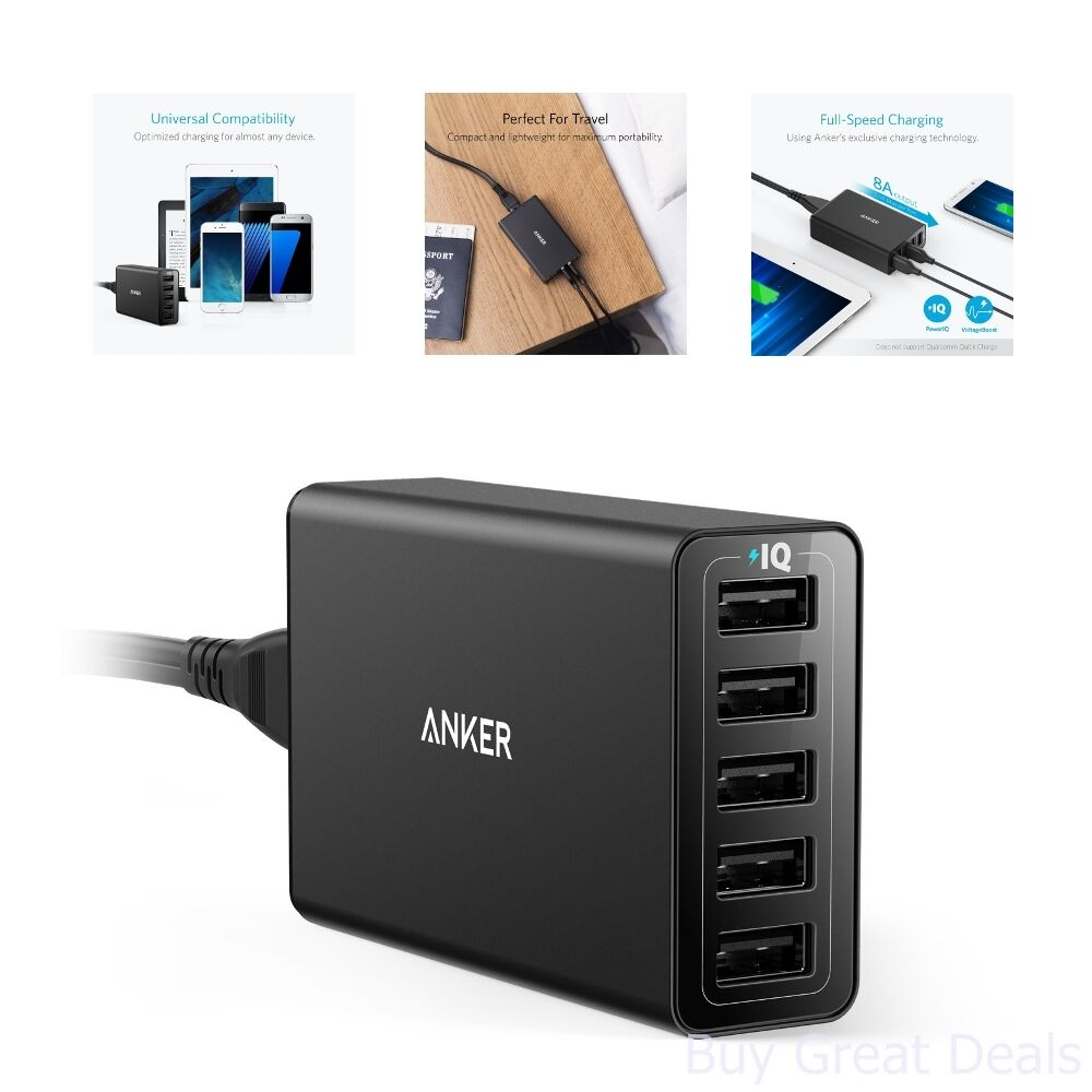Anker International Upc Barcode Buycott Powerline Micro Usb 1ft Fast Charging Black 848061073379