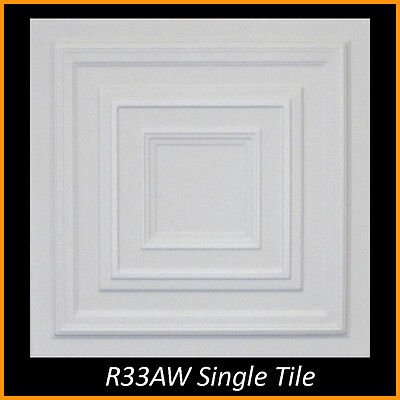 - Ceiling Tiles Styrofoam Glue Up 20x20 R33 Ultra Pure White Painted SUPER SALE