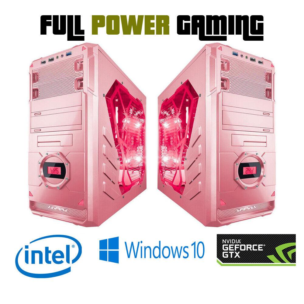 Custom Built Intel Gaming Desktop 8th Gen 8100 Gtx 1050 Ti 1