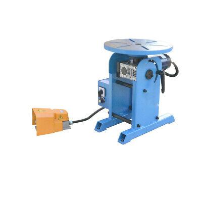 0-135 Welding Rotary Positioner Welder Turn Table Tilt Foot Pedal 220-480 Pounds