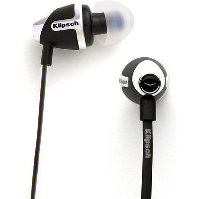 Klipsch IMAGE S4 II In-Ear Enhanced Bass Noise-Isolating Headphone, Black