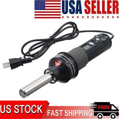 Quick Soldering Digital Hot Air Gun Rework Station Machine 110v 200w Tool Usa