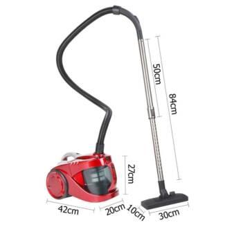 Bagless Cyclone Cyclonic Vacuum Cleaner HEPA Red