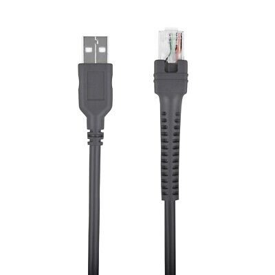 6.6ft Usb Cable For Symbol Barcode Scanner Ls2208 Ls4208 Ds6878 Cba-u01-s07zar