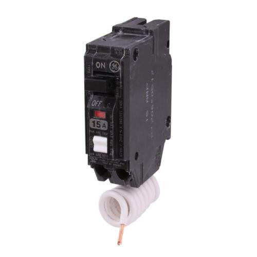 GE Q-Line 15 Amp Single-Pole Arc Fault Combination Circuit Breaker THQL1115AFP2
