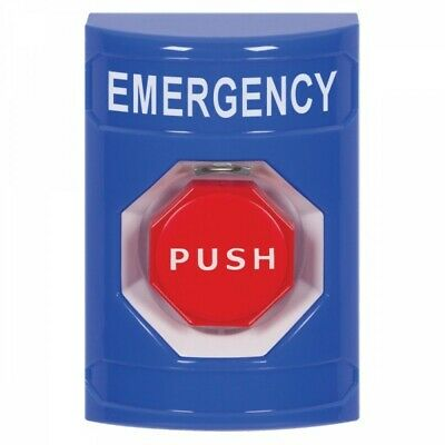 Sti Stopper Station Emergency Push Button Blue Ss2401em-en