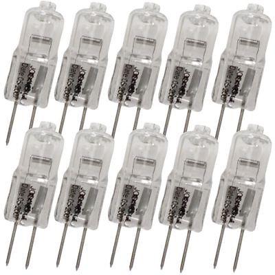10 x Halogen-Lampe G4 12V 20W Stiftsockel Stiftsockellampe 20 watt leuchtmittel