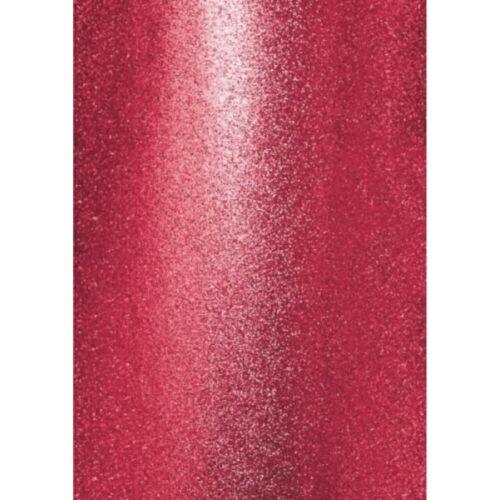 5+Sheets+A4+High+Premium+Glitter+Card+ZERO+SHED+Wine+Red+Claret