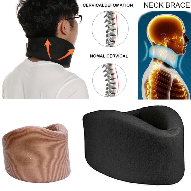 Neck Brace SupportSoft Foam Medical Cervical Collar Head Adj