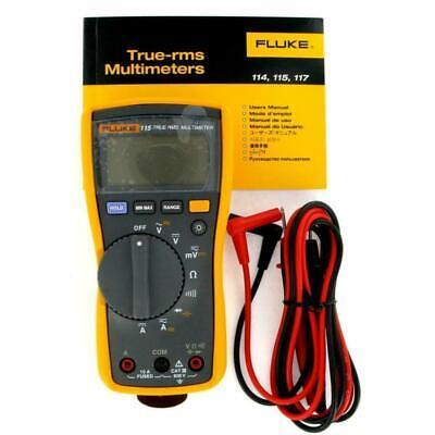 Fluke 115 True-rms Digital Multimeter Free Shipping L