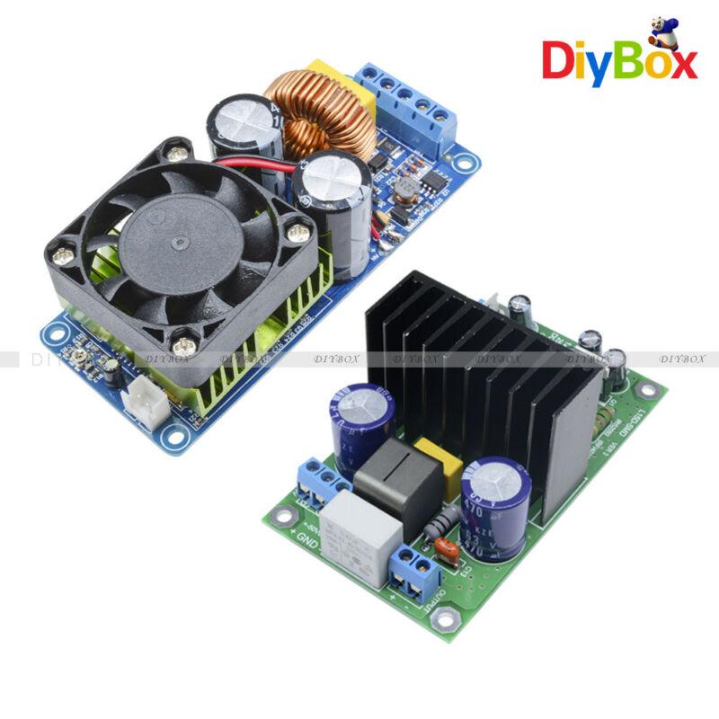 Digital IRS2092S 250W 500W Mono Channel Amplifier HIFI Power Amp Board + FAN