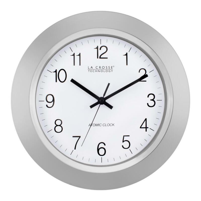 La Crosse Technology Atomic Analog Wall Clock Automatic Dayl
