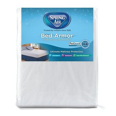 Spring Air Bed Armor WATERPROOF Terry Mattress Pad - 22 Inches Deep -TWIN XL