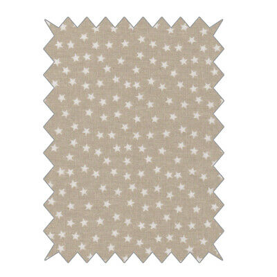 Fabric Offcuts Cotton To Star Beige 100x70cm - Rayher