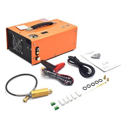 Portable 30mpa Auto-stop 12v110v Pcp Air Compressor For Airgun Scuba Paintball