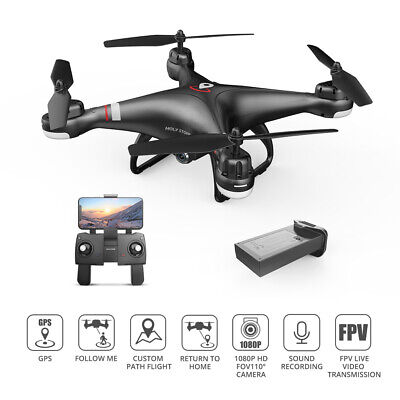 Holy Stone HS110G 1080P HD Video Camera FPV GPS Drones RC Quadcopters Follow Me