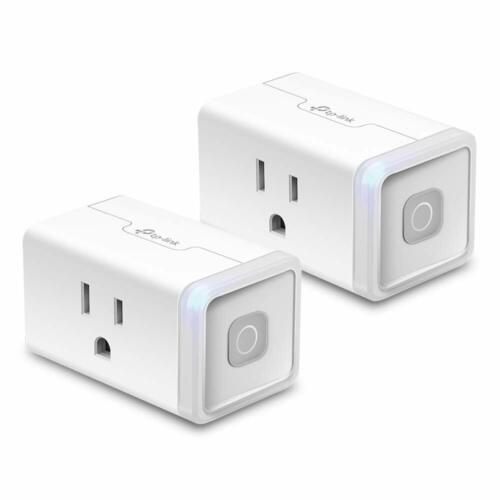TP-Link 2-Pack Kasa Smart Mini Wi-Fi Plug Lite 12a | Alexa Google Home | HS103P2