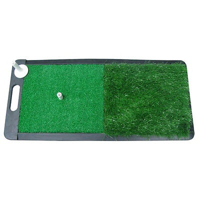 NEW Pride Sports Two Surface Golf Practice Pad 3-in-1 All Purpose Hitting Mat