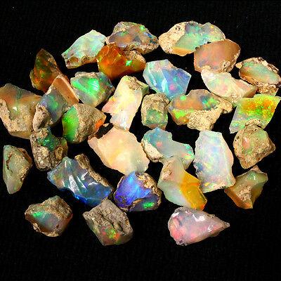 3+ ct Beautiful Natural Ethiopian Welo Rough Opal