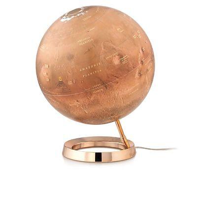 Leuchtglobus Der rote Planet Mars 30cm Marskugel Globe Globus Mondkugel Astro