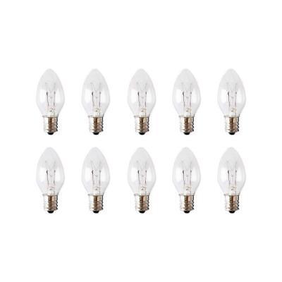 10 Pack 15WE12 15 Watt Light Bulbs for Scentsy - Plug in Night Wax Warmer